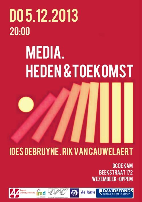 dialoog media met logo's